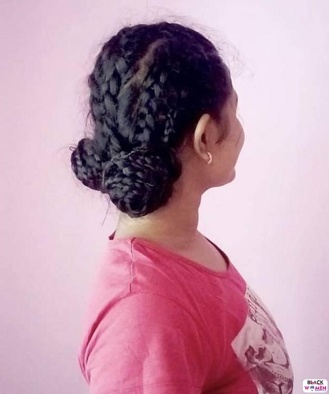 Natural hair updos 044