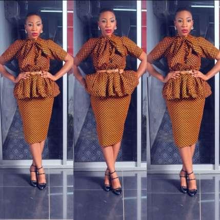ankara skirt blouse 3