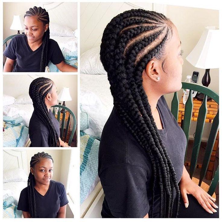 The Most Beautiful Models Of Cornrow Hair Braids