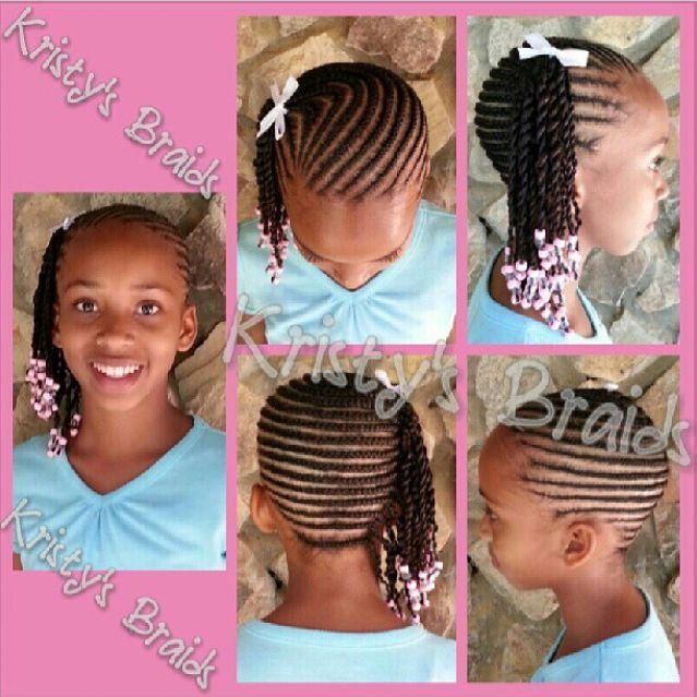 Cute Hair Braiding Styles For Fashionista Little Ladies