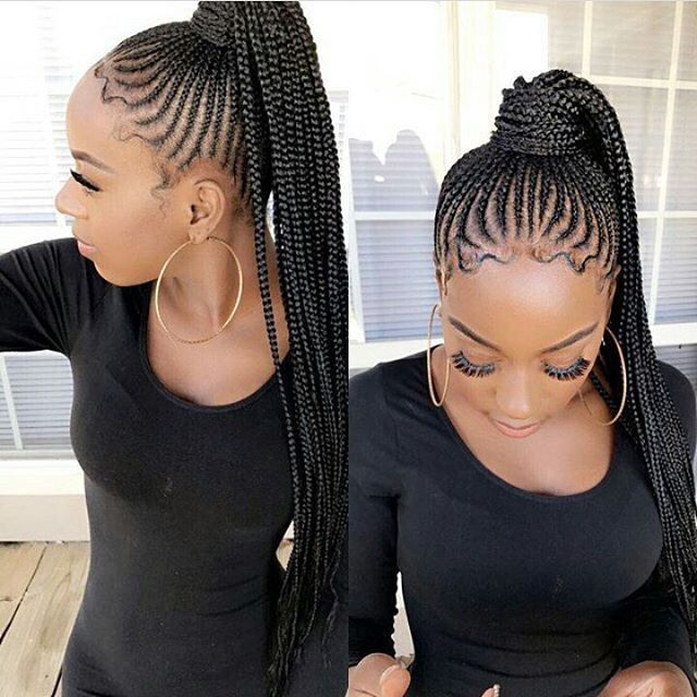 2 587 likes 10 comments   blackhair flair blackhair flair on instagram shaquellra braided ponytail special inspired by nicki minaj braidedpo
