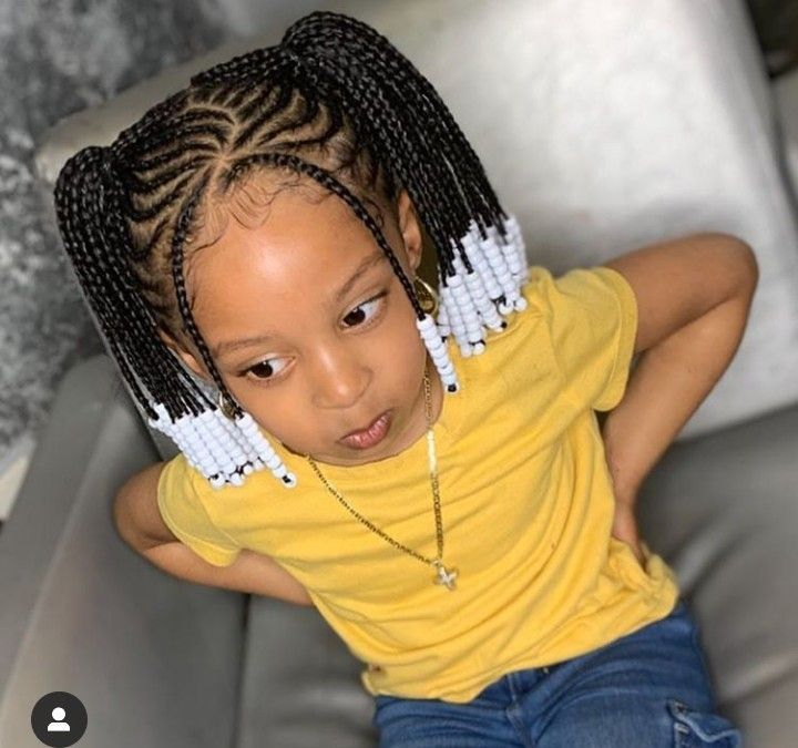 Cute Back To School Hairstyles For Natural Kids