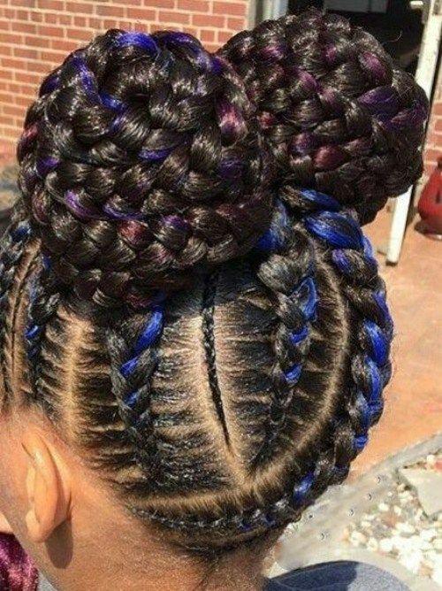 Little Black Girls' 40 Braided Hairstyles OD9jastyles