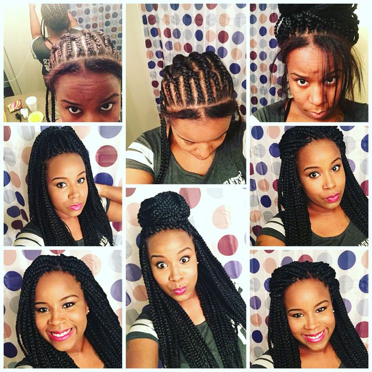 box braids crochet