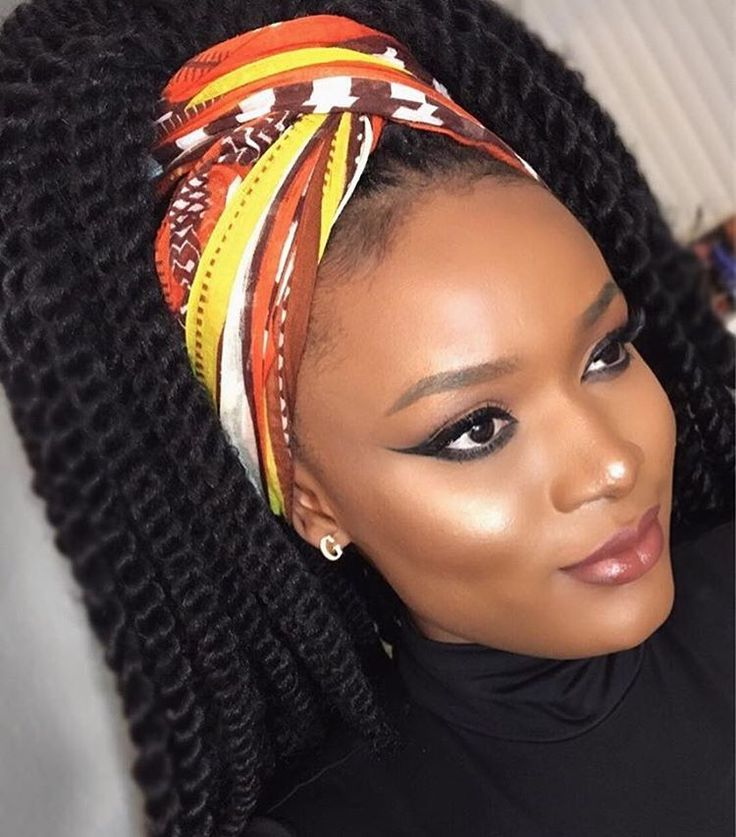 2018 Bandana Style Trends For Hair Braids