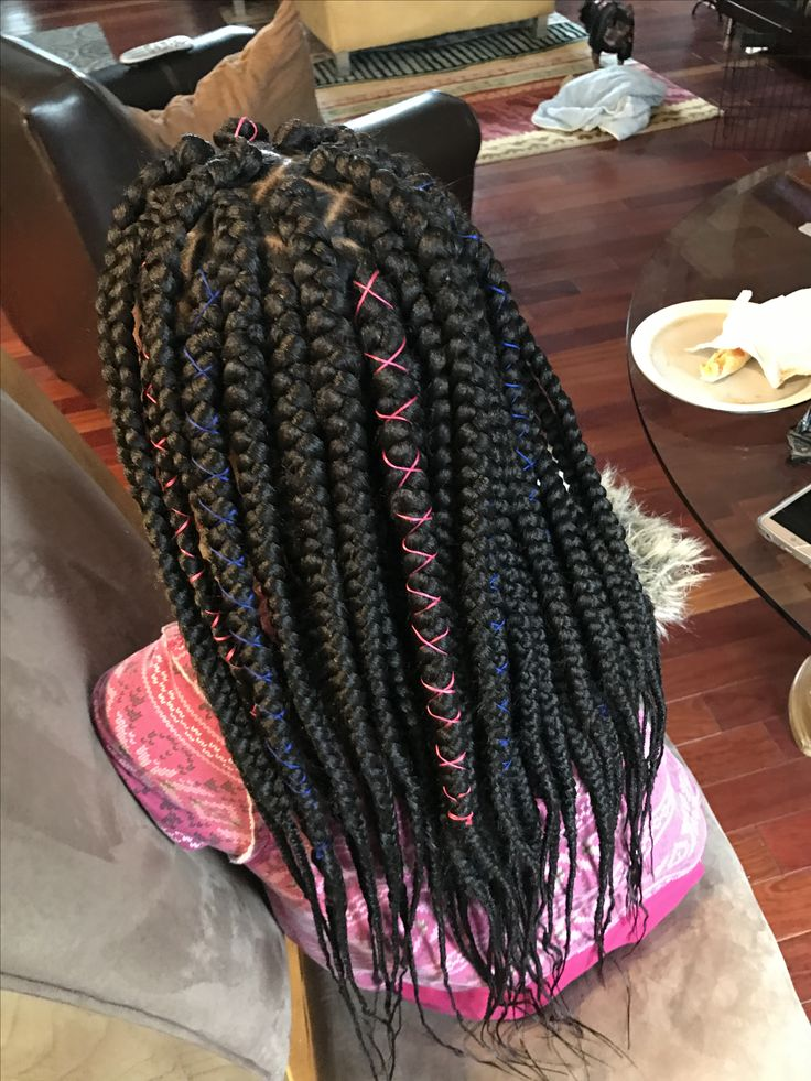 jumbo box braids by me again.