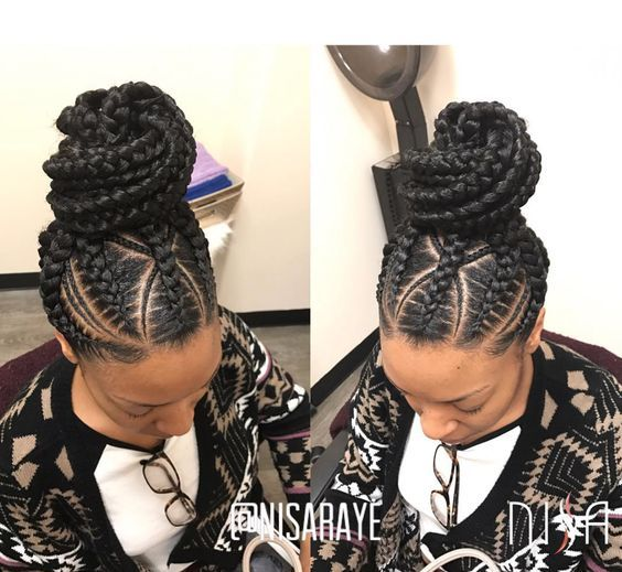 2020 Best Black Braided Hairstyles for Girls