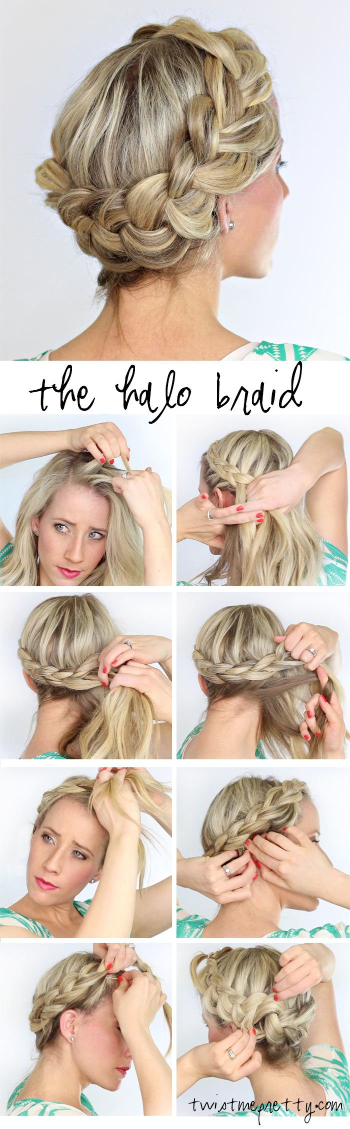 Bring The Spring Early With These Romantic Hair Braids