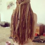 Blonde Honey Brown Hair Braids For Very Long Hair