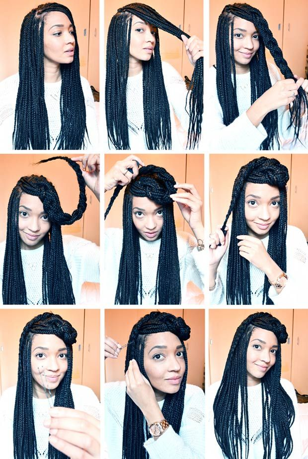 Various Models You Can Do With Box Braids