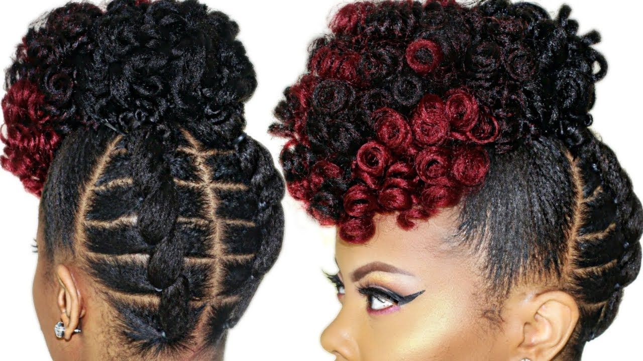 Hair Style For Colorful Hair Lovers
