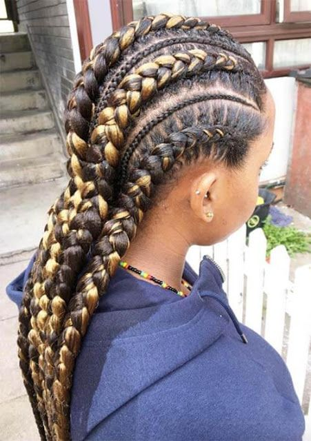 Hair Braid Patterns Of This Summer