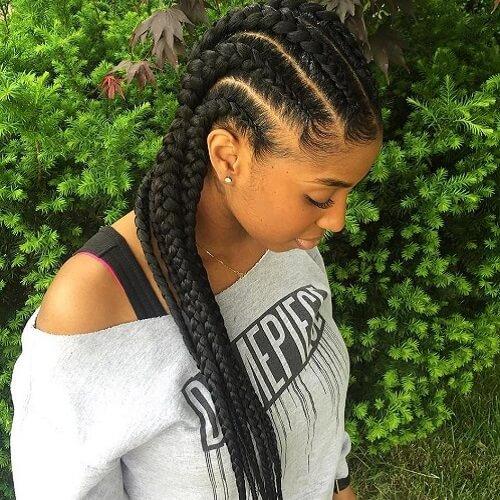 Classic Cute Goddess Braids