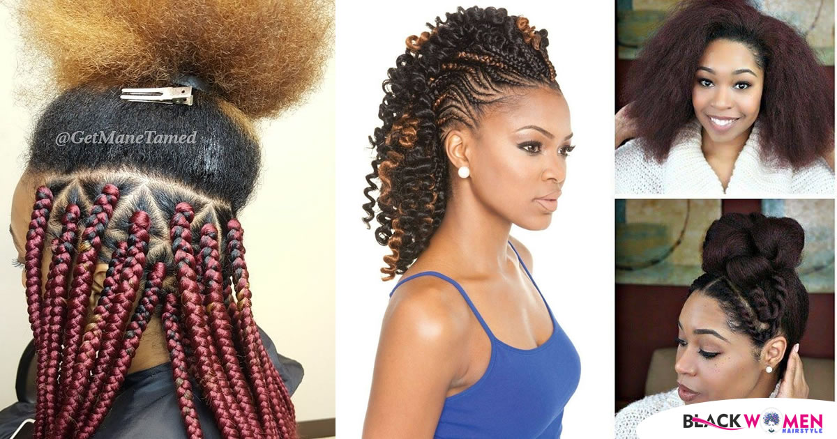The Hair Braids That Suit With Horse Tail In The Best Way