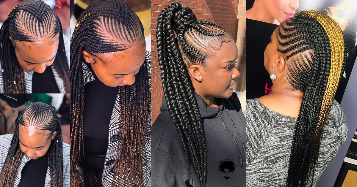 194 Photos: Shockingly Beautiful Best Braided Hairstyles for Black Women