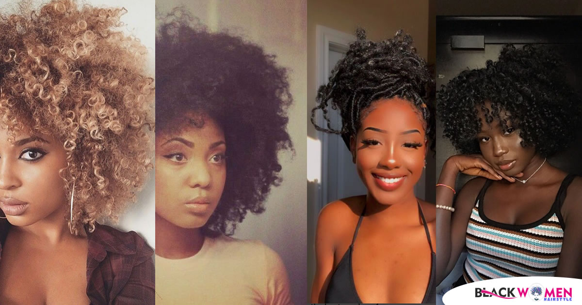 80 Wonderful Curly Hairstyles for Black Women images