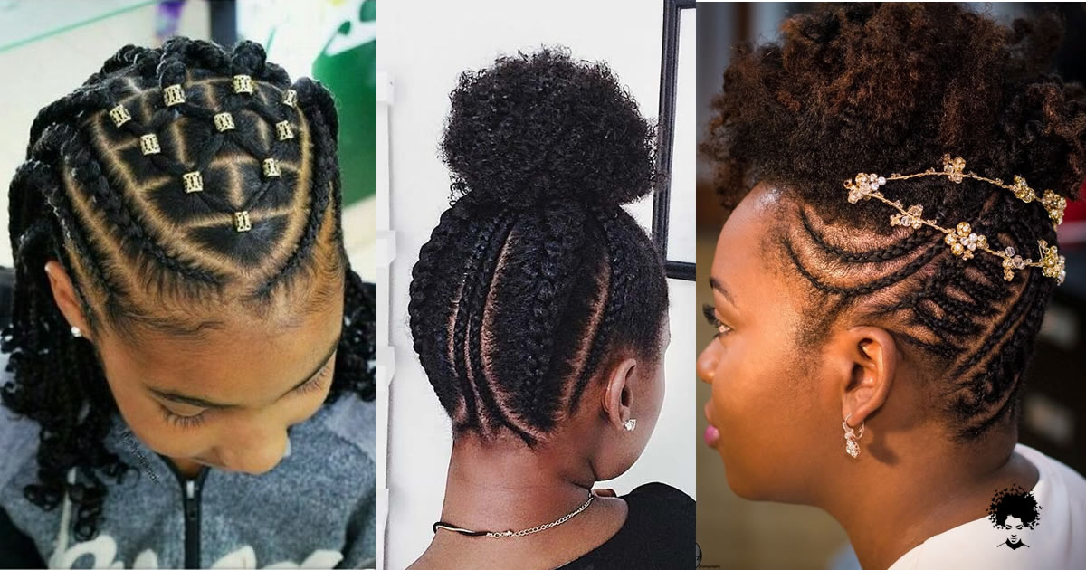 70 Creative Natural Braided Hairstyles for Black Women