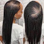 10 Fantastiese swart rieten haarstyle met verlengings