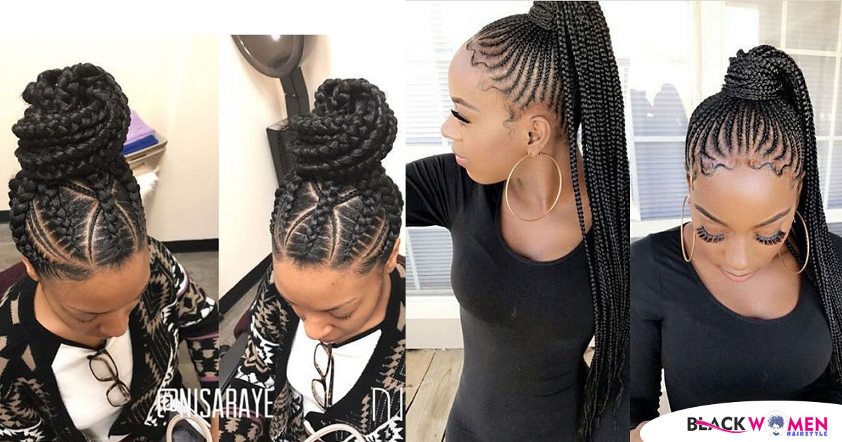 2021 Best Black Braided Hairstyles for Girls