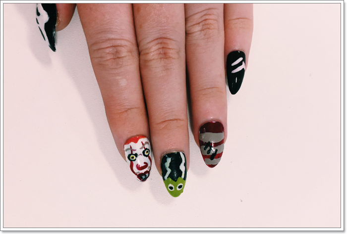 105 Glitzy Halloween Nails to Rock Your Party Looks