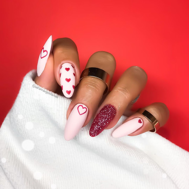 15 Valentine's Day Nail Art Designs to Recreate 14 February 2021