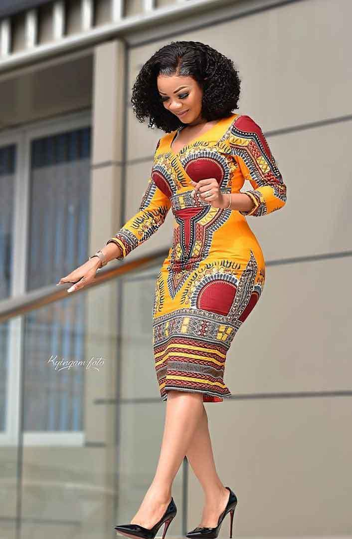 1582541486 307 Top 20 Stylish African Print Dresses Latest Styles For The Beautiful Ladies