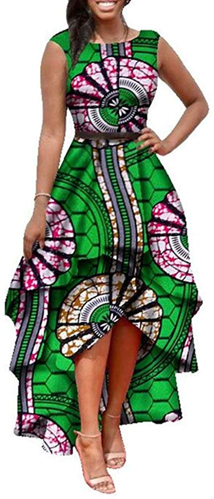1582541487 113 Top 20 Stylish African Print Dresses Latest Styles For The Beautiful Ladies