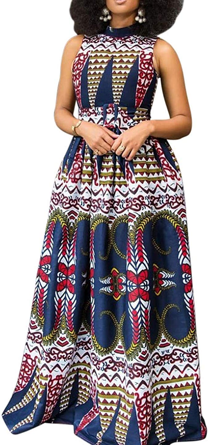 1582541488 755 Top 20 Stylish African Print Dresses Latest Styles For The Beautiful Ladies