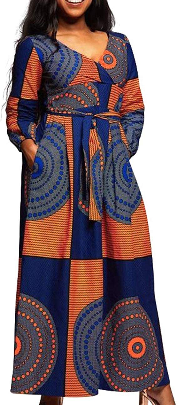 1582541489 6 Top 20 Stylish African Print Dresses Latest Styles For The Beautiful Ladies