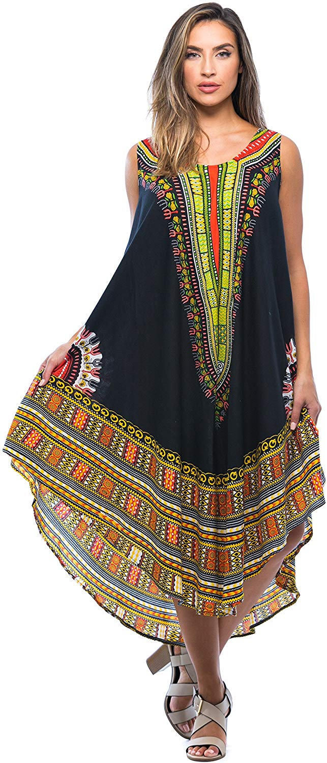 1582541491 807 Top 20 Stylish African Print Dresses Latest Styles For The Beautiful Ladies
