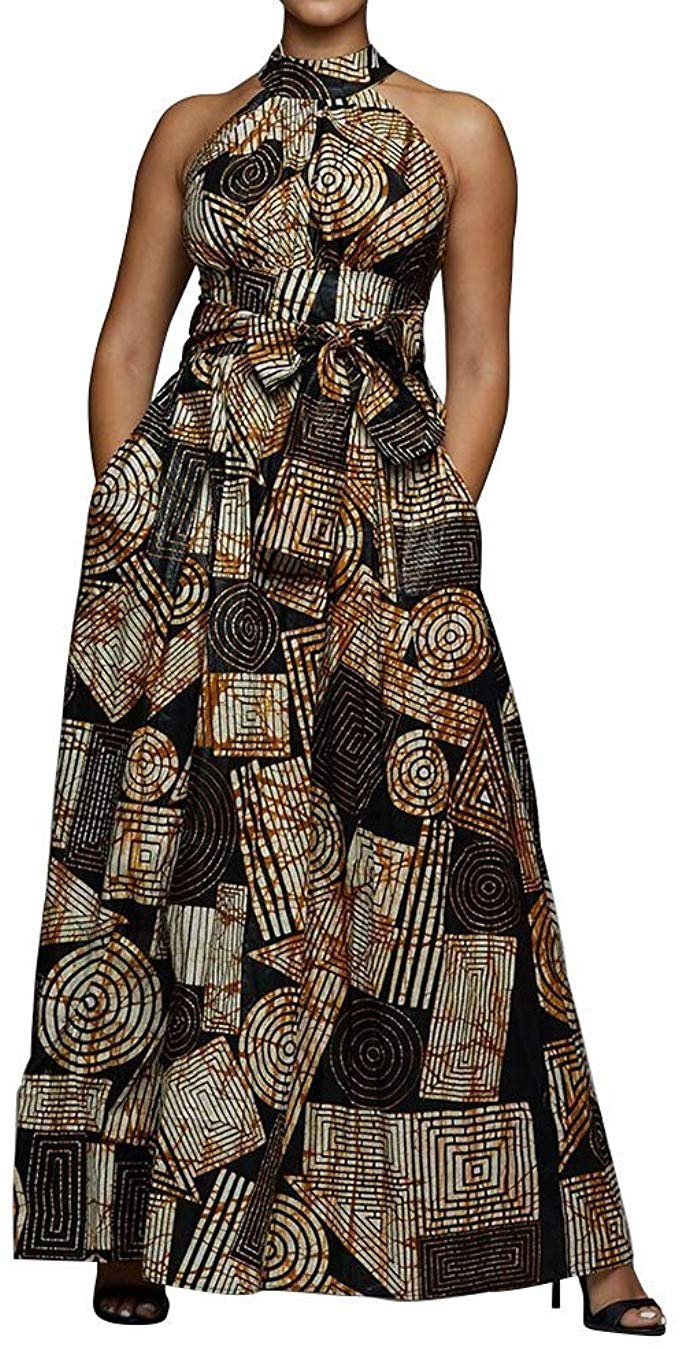 1582541492 304 Top 20 Stylish African Print Dresses Latest Styles For The Beautiful Ladies