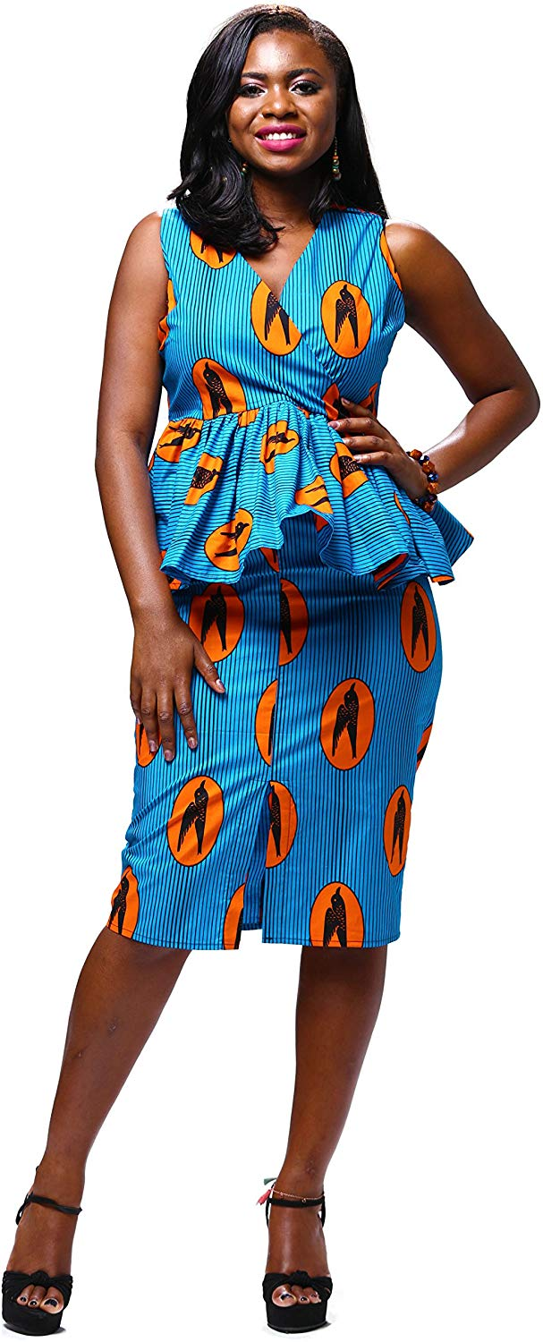 1582541492 766 Top 20 Stylish African Print Dresses Latest Styles For The Beautiful Ladies