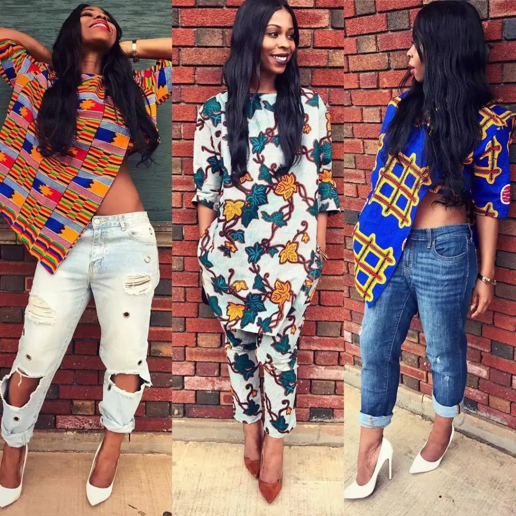 1582543084 116 Best Ankara Tops On Jeans For Stars