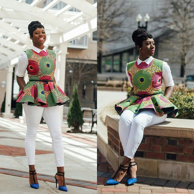 1582543084 257 Best Ankara Tops On Jeans For Stars