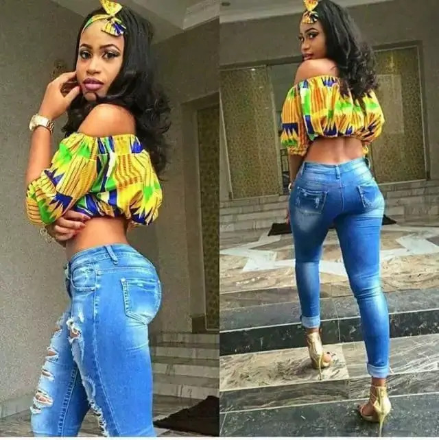 1582543084 869 Best Ankara Tops On Jeans For Stars