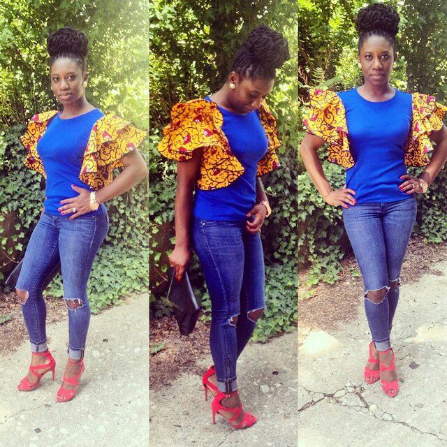 1582543085 171 Best Ankara Tops On Jeans For Stars