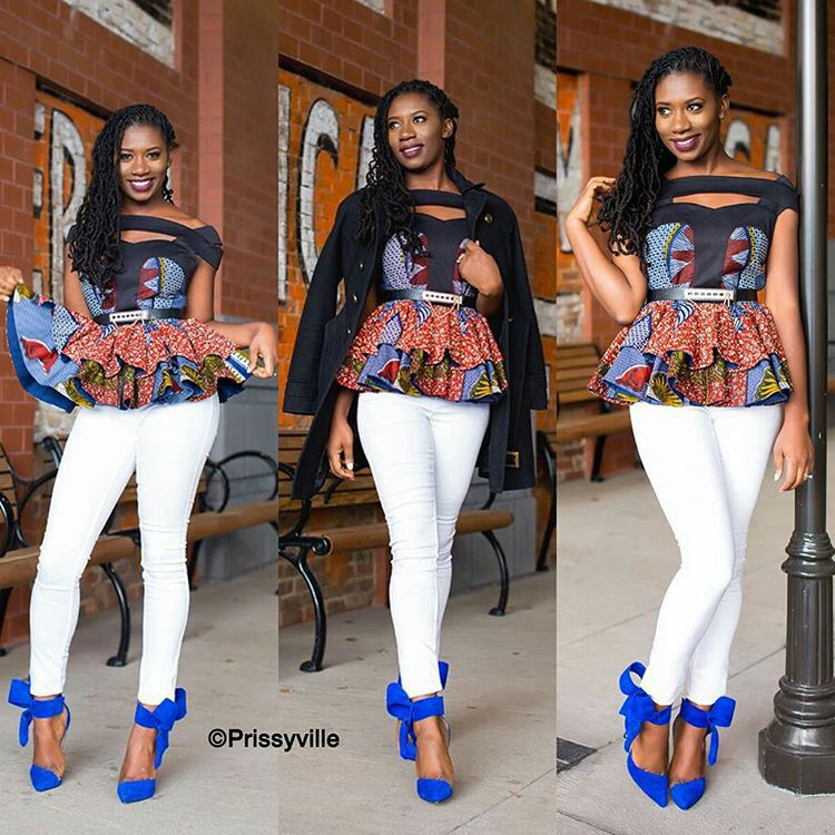 1582543085 479 Best Ankara Tops On Jeans For Stars