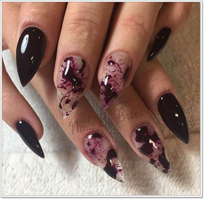 1582543771 518 105 Glitzy Halloween Nails to Rock Your Party Looks