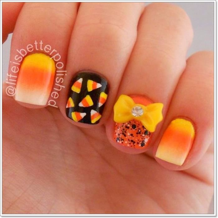 1582543771 725 105 Glitzy Halloween Nails to Rock Your Party Looks