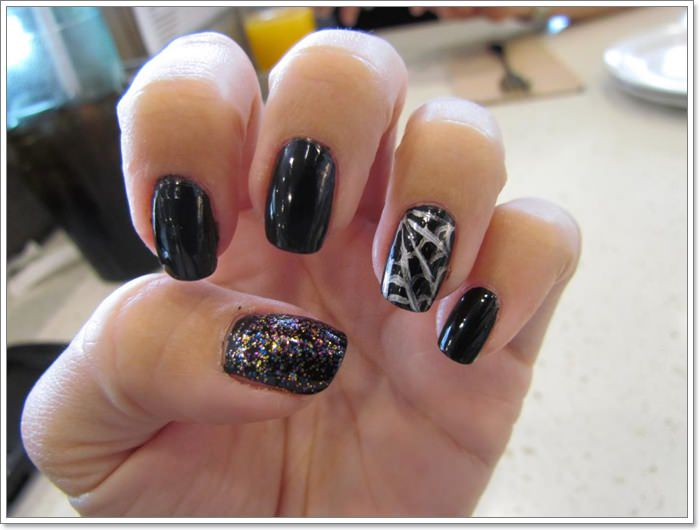 1582543773 777 105 Glitzy Halloween Nails to Rock Your Party Looks
