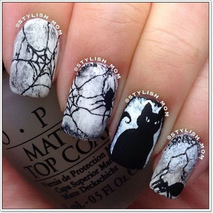 1582543773 956 105 Glitzy Halloween Nails to Rock Your Party Looks
