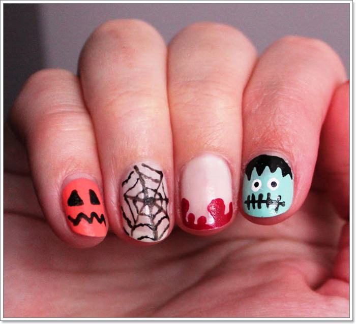 1582543774 48 105 Glitzy Halloween Nails to Rock Your Party Looks