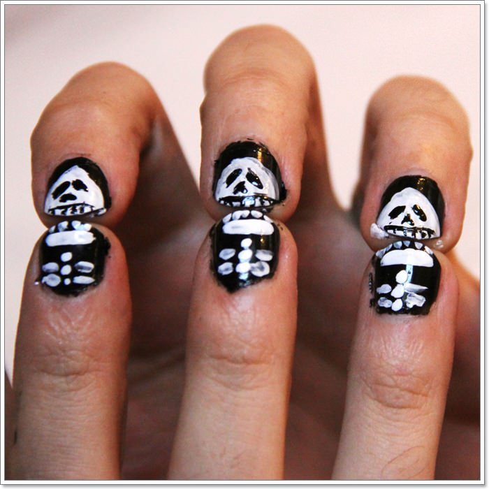 1582543775 537 105 Glitzy Halloween Nails to Rock Your Party Looks
