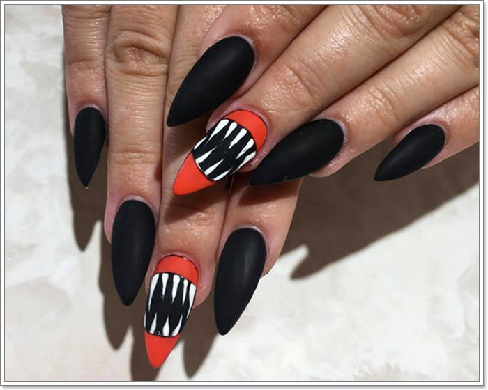 1582543777 336 105 Glitzy Halloween Nails to Rock Your Party Looks