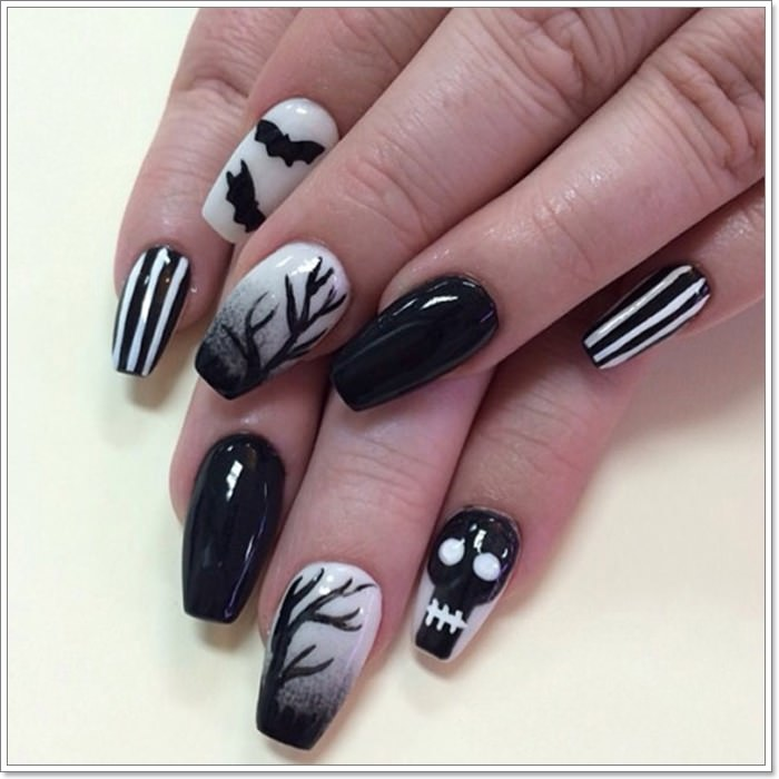 1582543777 70 105 Glitzy Halloween Nails to Rock Your Party Looks