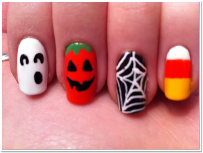 1582543777 922 105 Glitzy Halloween Nails to Rock Your Party Looks