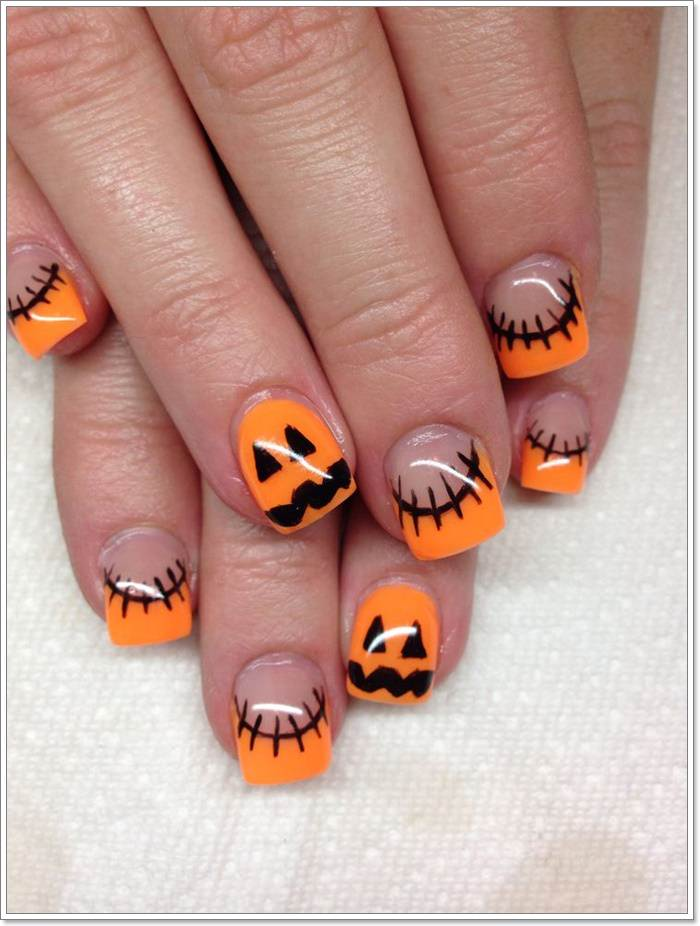 1582543778 87 105 Glitzy Halloween Nails to Rock Your Party Looks