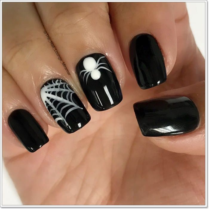 1582543781 451 105 Glitzy Halloween Nails to Rock Your Party Looks