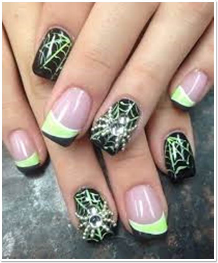 1582543783 659 105 Glitzy Halloween Nails to Rock Your Party Looks