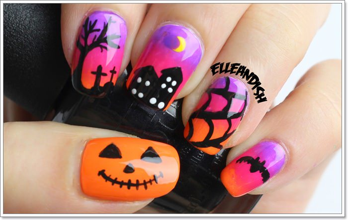 1582543784 482 105 Glitzy Halloween Nails to Rock Your Party Looks